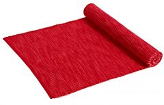 Tischläufer Anthea, rot/hellrot