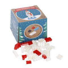 Baustein-Set 3D-Figur, Eisbär
