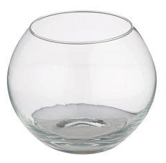 Glas-Kugelvase, 14,5 cm