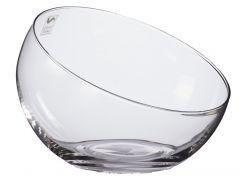 Glas-Kugelvase Schrägrand, 16 cm