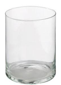 Glas-Vase Zylinder, 15 x 20 cm