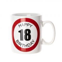 Becher 18. Geburtstag, 750 ml