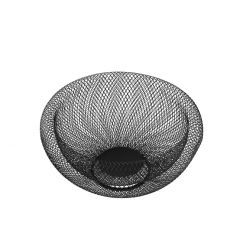 Korb Design, schwarz, 28,5 cm