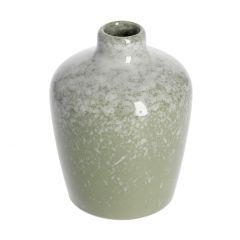Vase Edel, glänzend, hoch, mintgrün