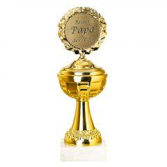 Pokal Bester Papa der Welt, 22 cm