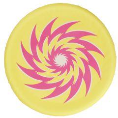 Wurfscheibe Stoff, gelb, 30 cm