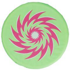 Wurfscheibe Stoff, grün, 30 cm