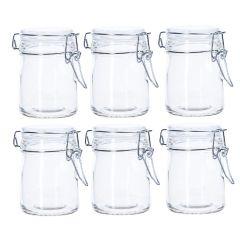 6er Set Vorratsglas mit Bügelverschluss, 150 ml