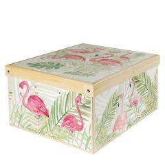 Geschenkkarton, Flamingo