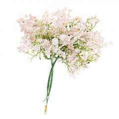 2er Deko-Stecker Miniblüten, rosa, 20 cm