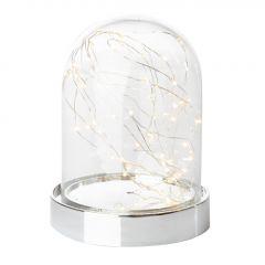 LED-Glocke, silber, 60er