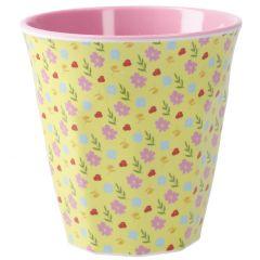 Becher Design, Blüten, 300 ml