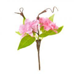Deko-Stecker Kirschblüte, pink, 14 cm