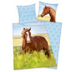 Bettwäsche, Pferd, 135 x 200 cm