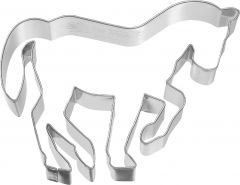 Ausstechform Pferd in Piaffe, 10 cm