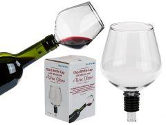 Flaschenaufsatz Weinglas, 13 cm