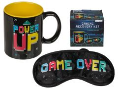 Gaming Erholungs-Set Becher + Augenmaske