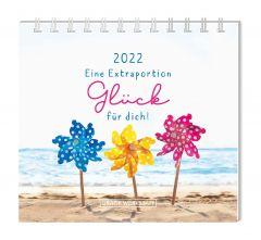 Mini-Tischkalender 2022, Eine Extraportion Glück