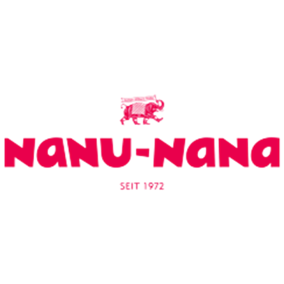 Windlicht Metallrand, braun/gold, 8,5 x 5,5 cm
