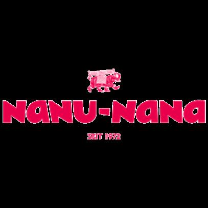 Tischdecke Sandra Streifen Grau 100x100 Cm Nanu Nana